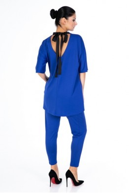 Suit with tunic