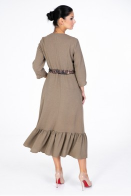 Light crepe dress